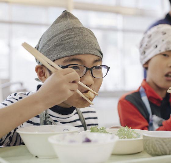 <ご報告> 【地産地食の学校_09】 COOKING みんなで作って食べよう!神山給食プロジェクト
