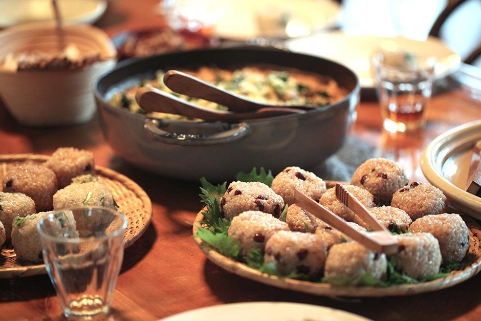 【LUNCH EVENT】<br/>淡路島と神山の旬をいただくお昼ごはん<br/> ~どいちなつさん@かま屋  冬の場合  〜