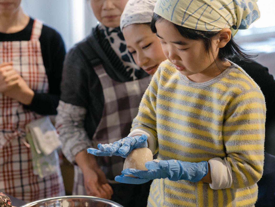 <ご報告>【地産地食の学校_11】COOKING 「神山の味」ゆず味噌&こんにゃくづくり