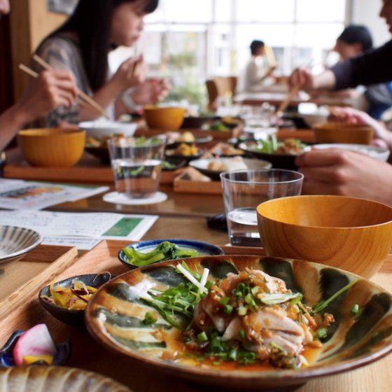 """<ご報告>日本酒 """"神山の味2017"""" と """"フードハブ定食"""" で神山の旬を味わおう@東京"""