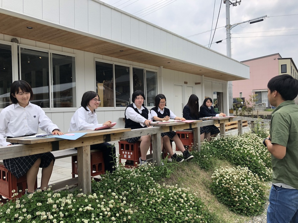 城西高校神山分校2年生「神山創造学」のお弁当プロジェクトチーム