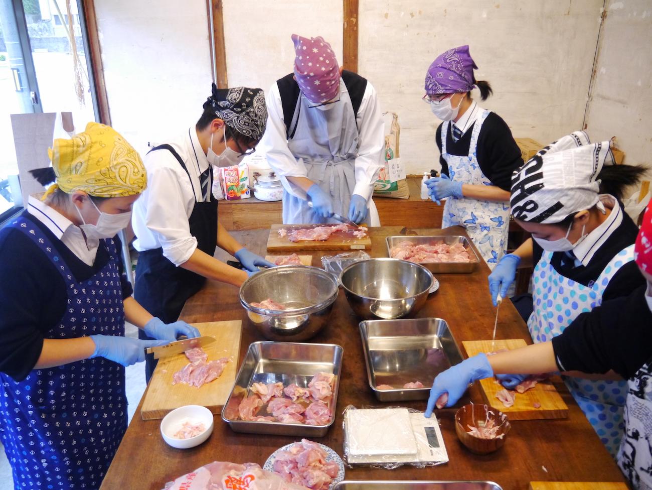 城西高校神山分校2年生 お弁当プロジェクトチームと仲間たち