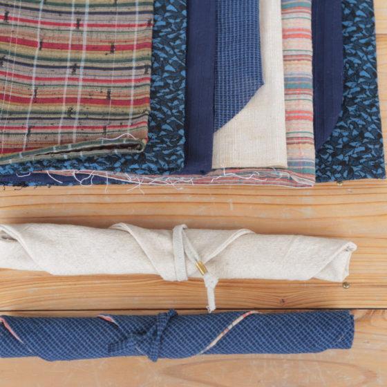 【地産地食の学校_14】<br/> 箸袋をつくろう〜神山で譲り受けた布地を使って〜