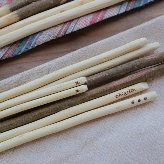 【地産地食の学校_12】<br/>箸をつくろう〜梅の剪定枝を使って〜