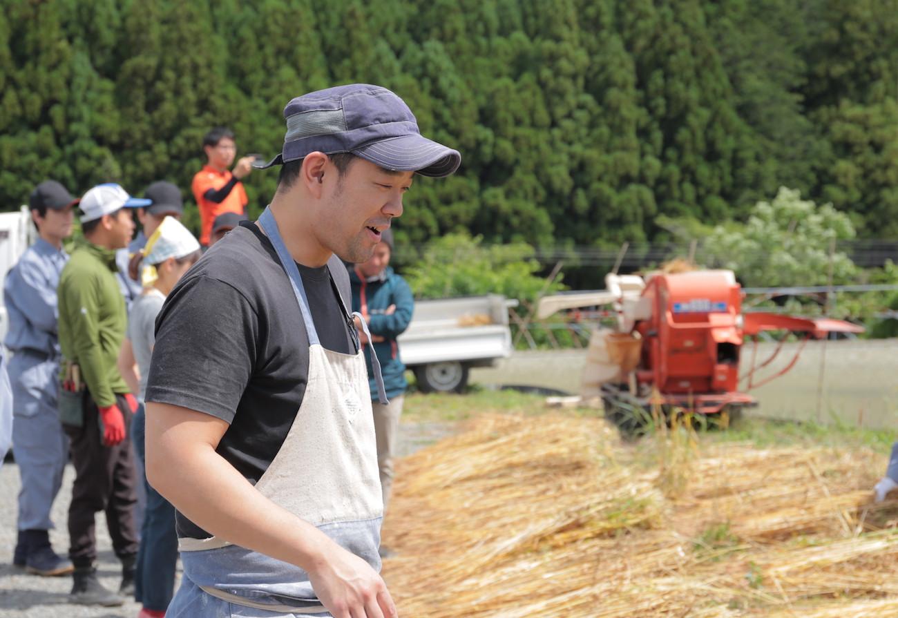 2019年 神山小麦の収穫