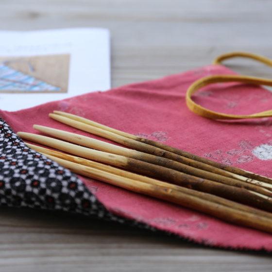 <ご報告><br/>【地産地食の学校_14】<br/> 箸袋をつくろう〜神山で譲り受けた布地を使って〜